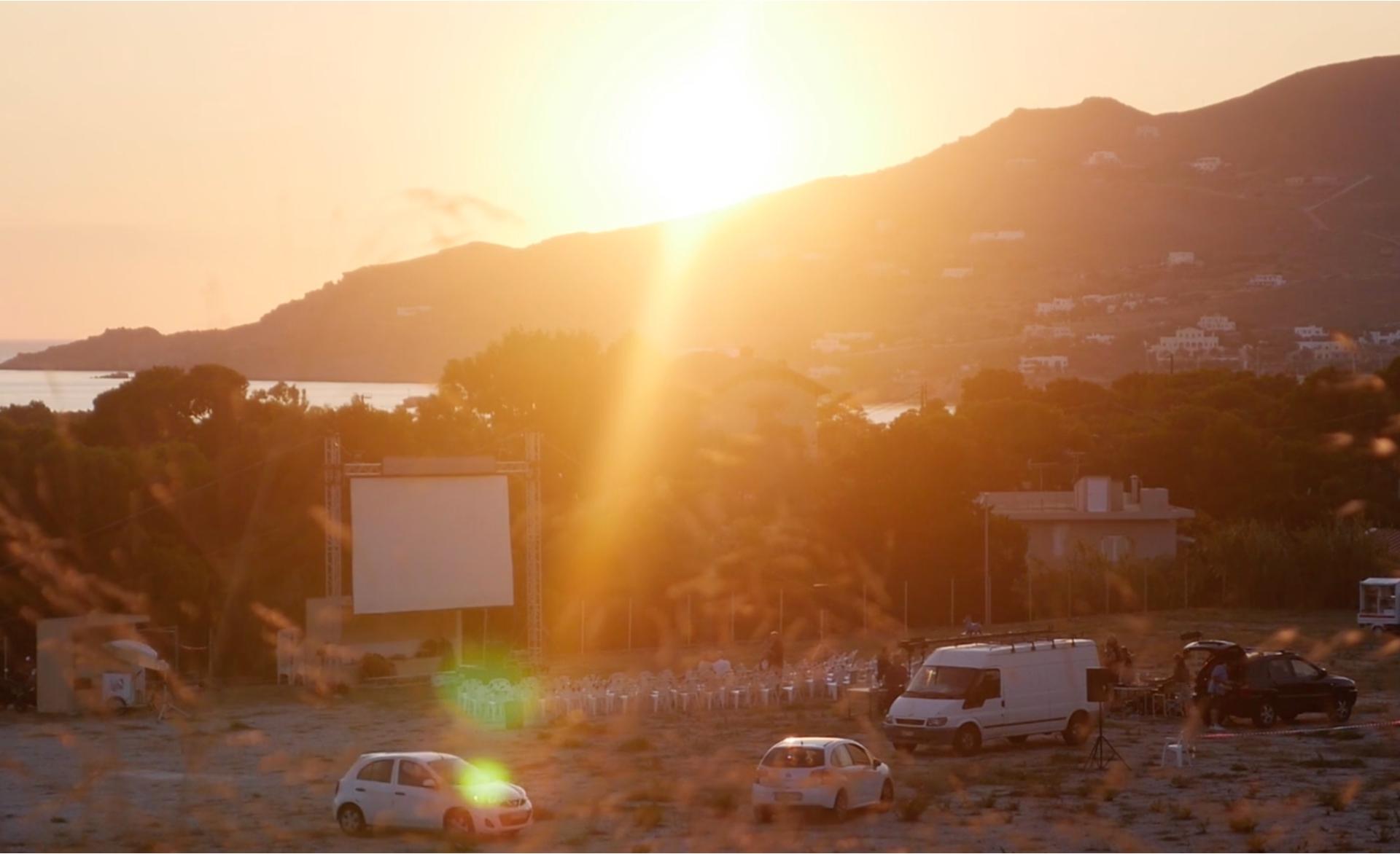 The Drive-In at Dellagrazia [Photo by Myrto Tzima]