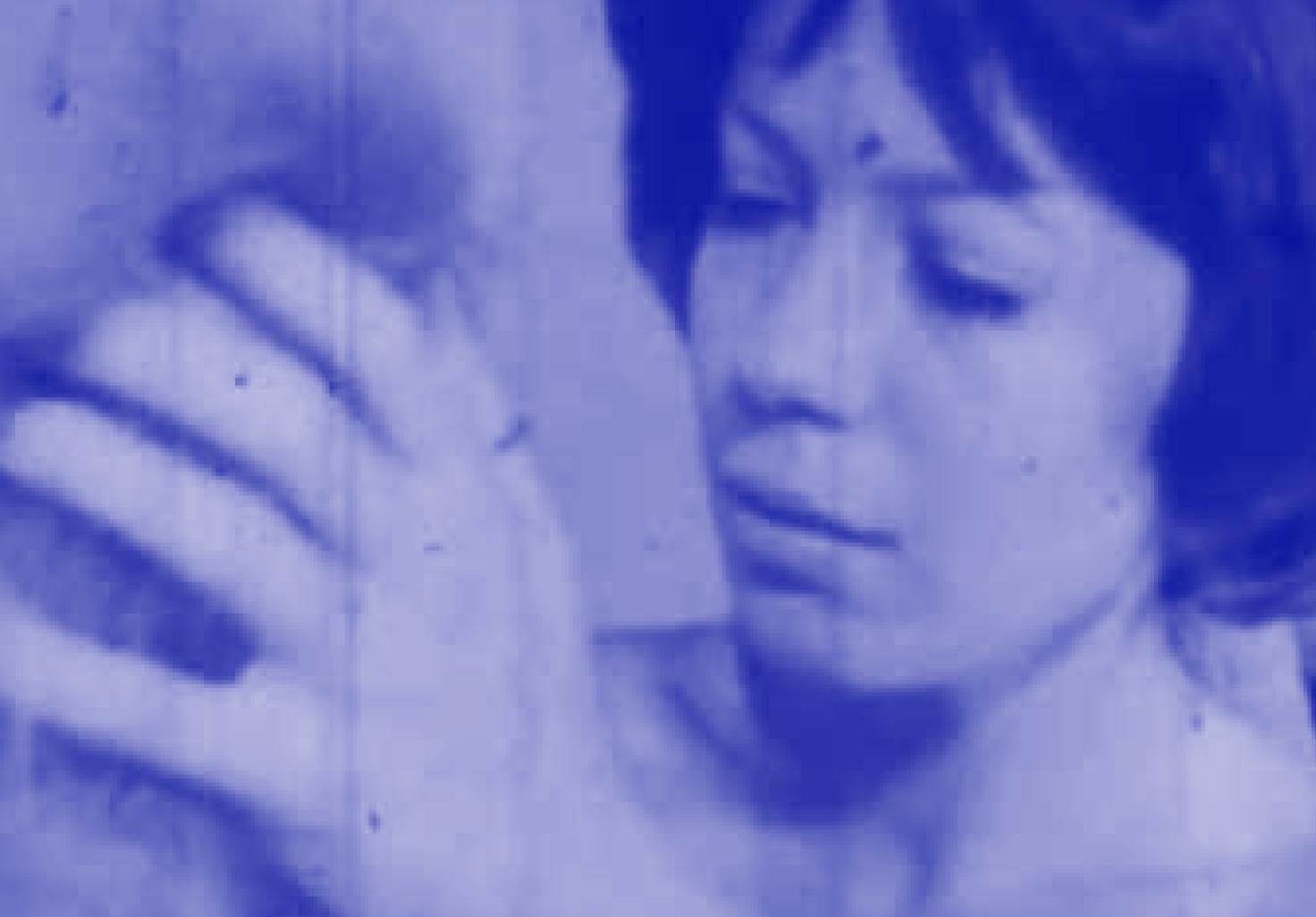 Eva Stefani, Acropolis (tinted in blue)