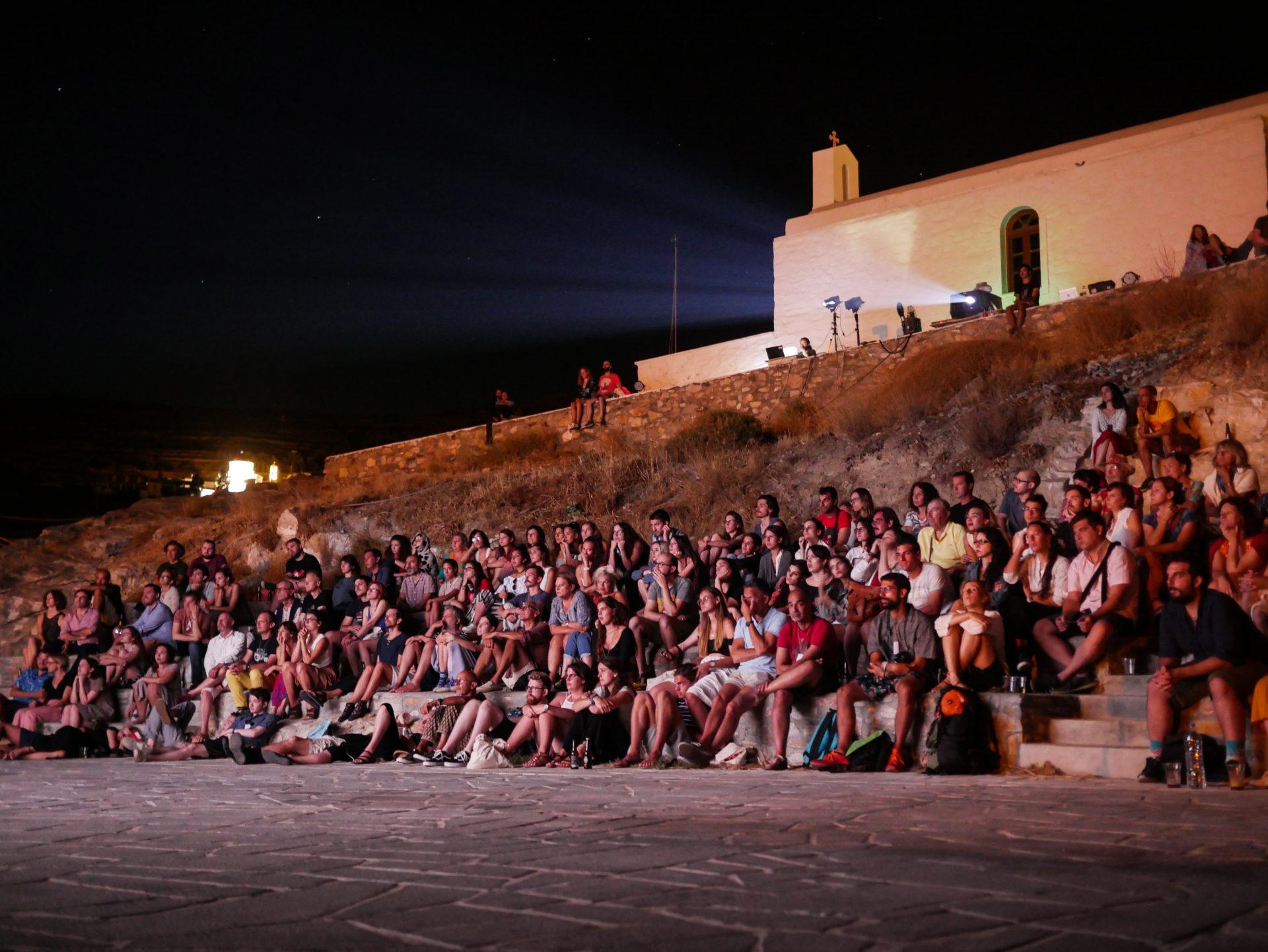 Ano Syros Amphitheater [Photo by Myrto Tzima]
